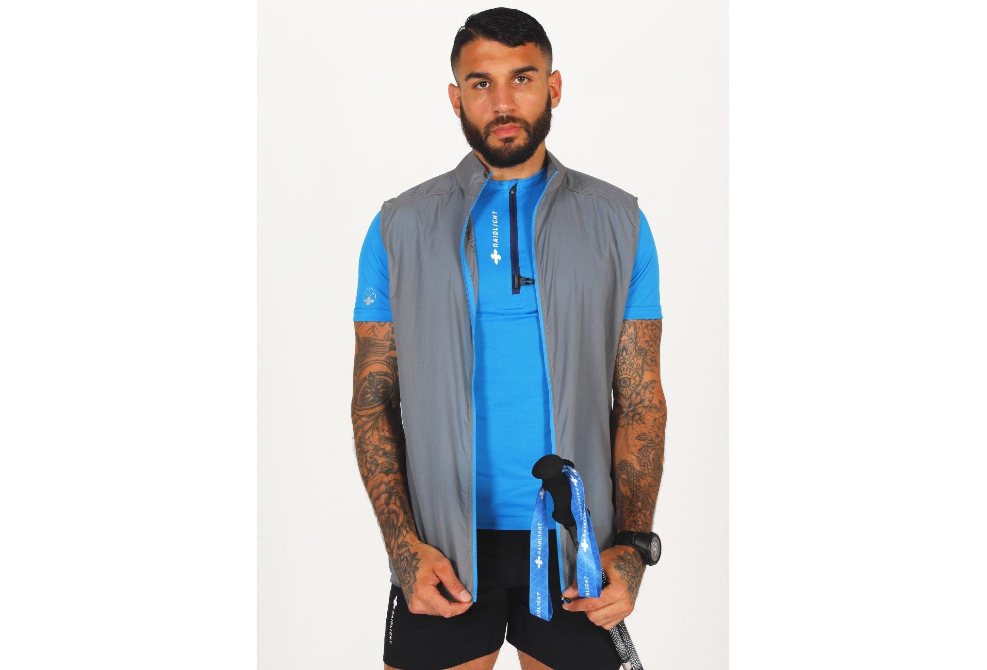 Raidlight Ultra Windproof M vêtement running homme
