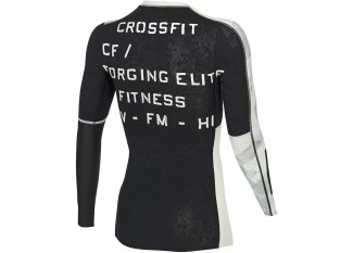 Reebok Camiseta manga larga de compresión Crossfit