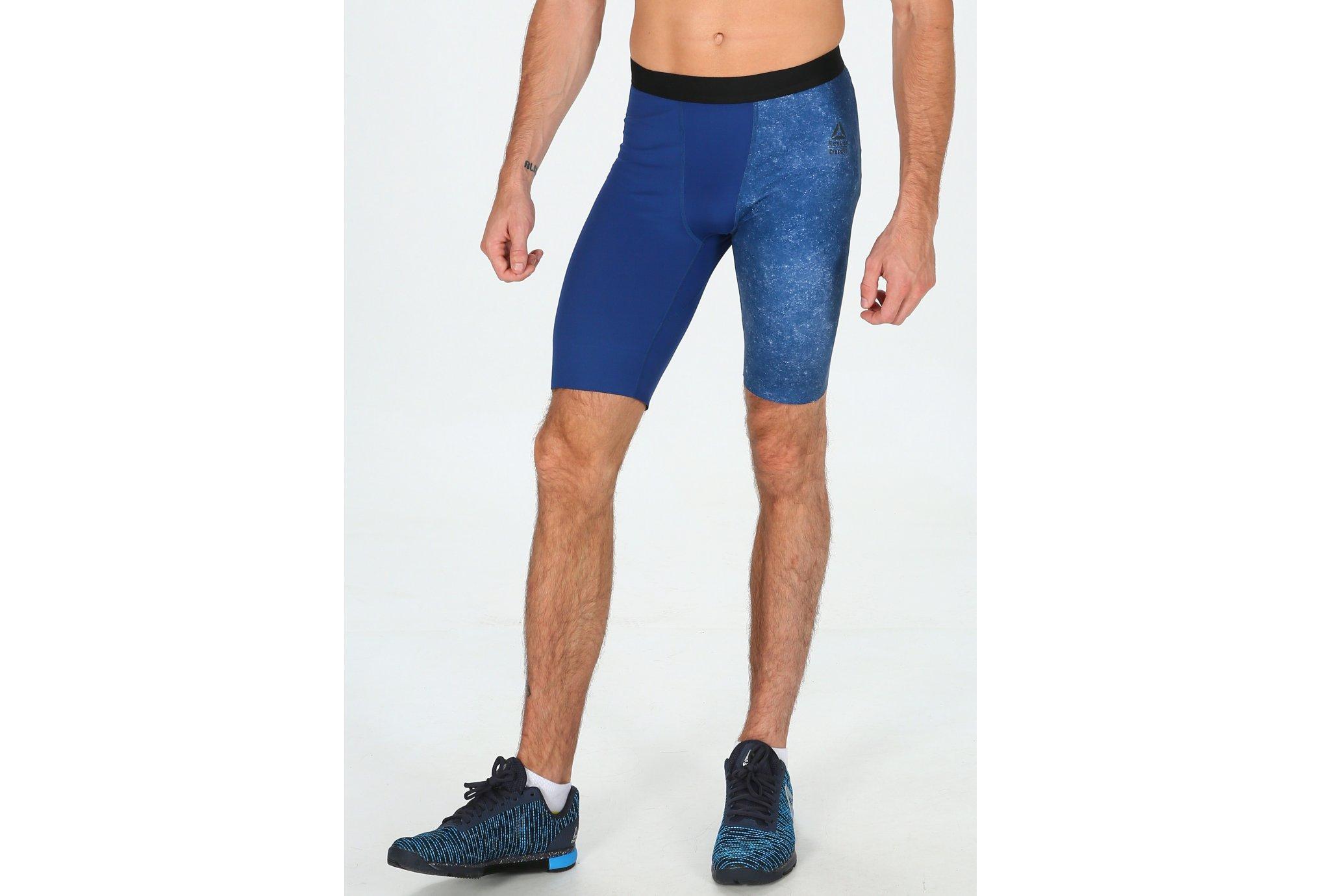 Reebok Mallas cortas Compression CrossFit vêtement running homme