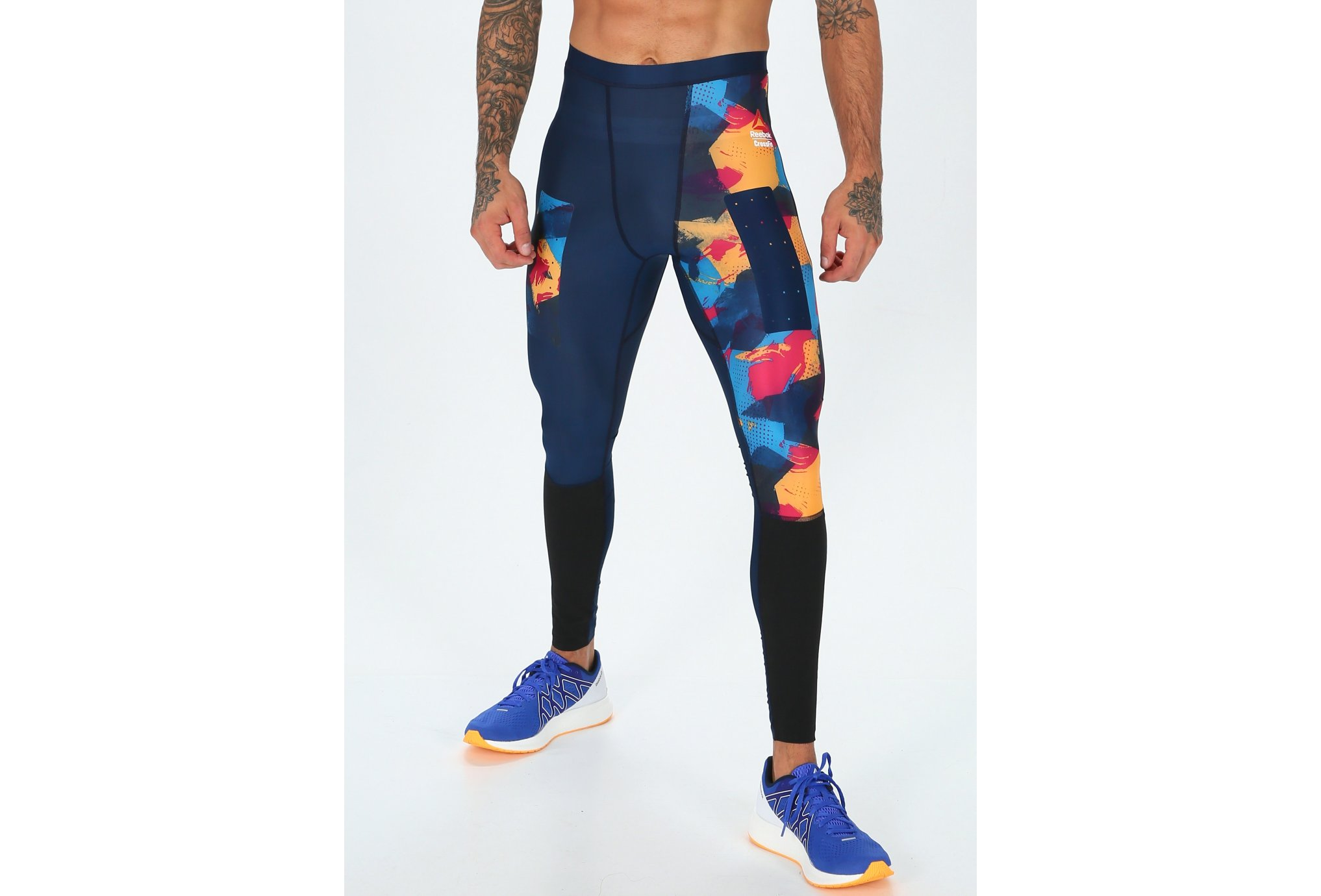 Reebok Compression Crossfit Printed M vêtement running homme