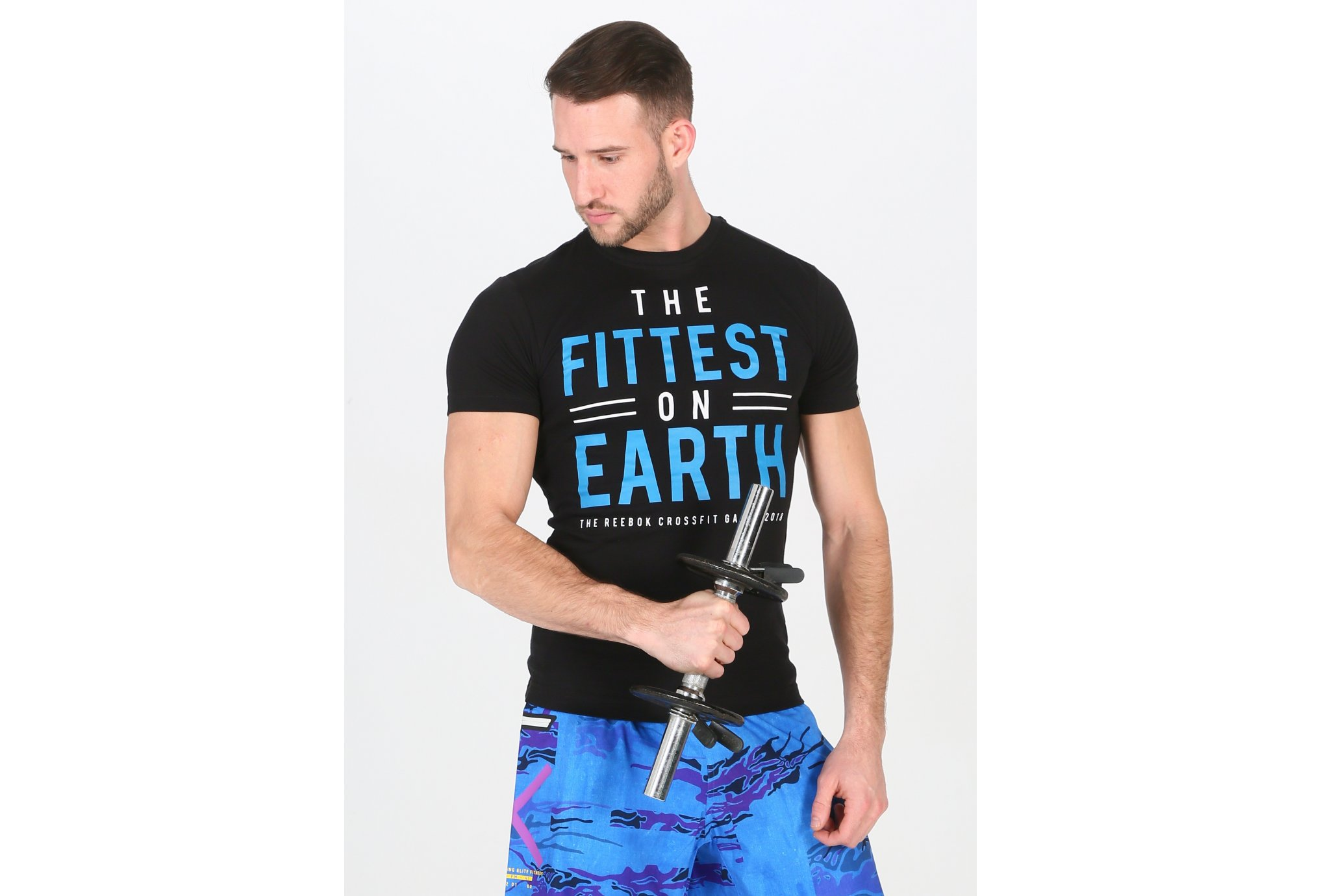 Reebok Crossfit Fittest On Earth M vêtement running homme