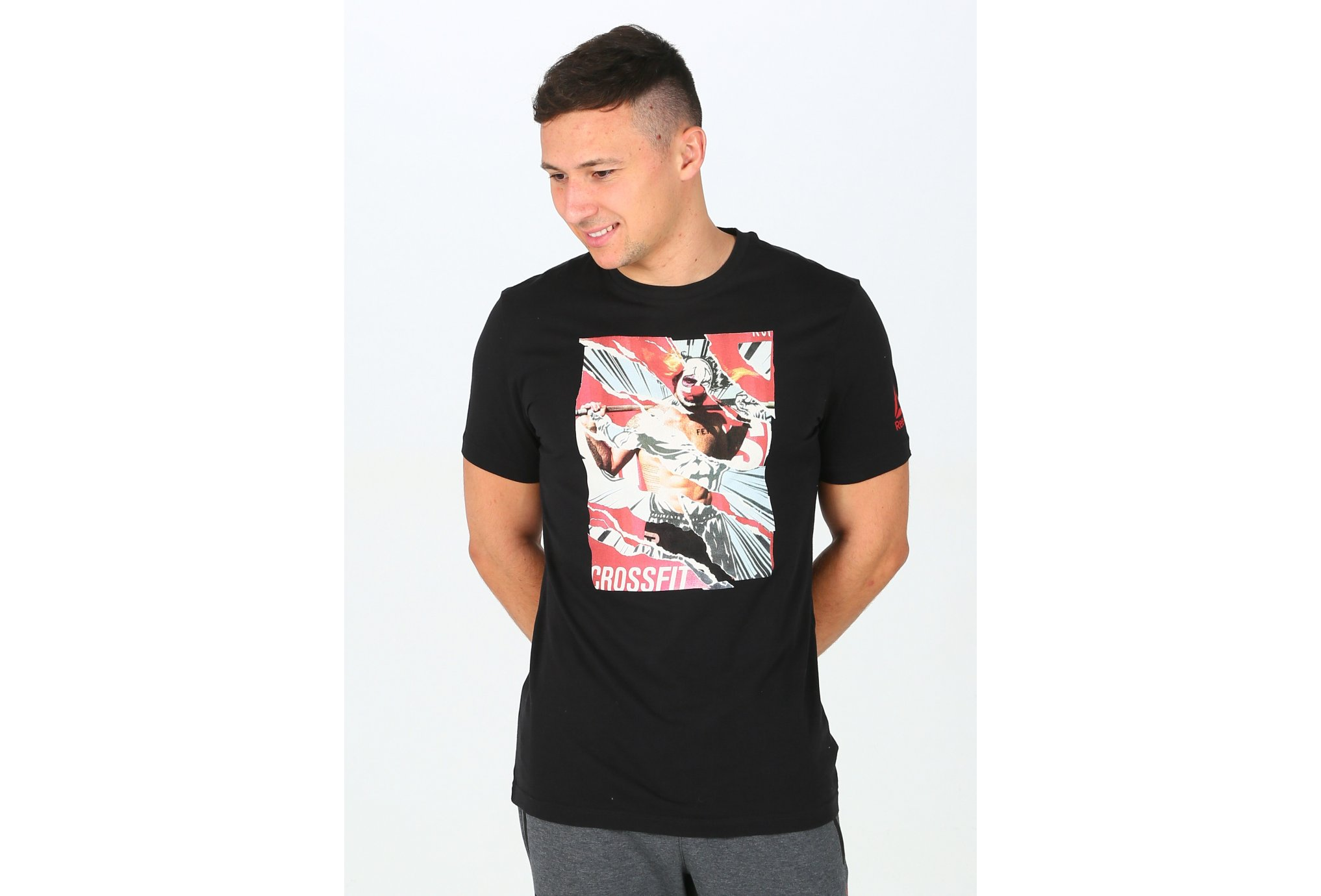 Reebok CrossFit Pukie Collage M Diététique Vêtements homme