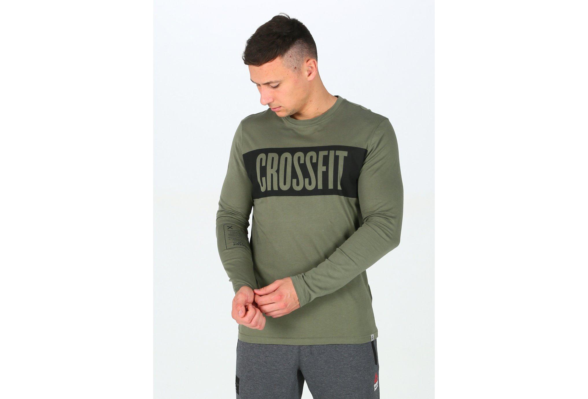 Reebok CrossFit Stripe M Diététique Vêtements homme