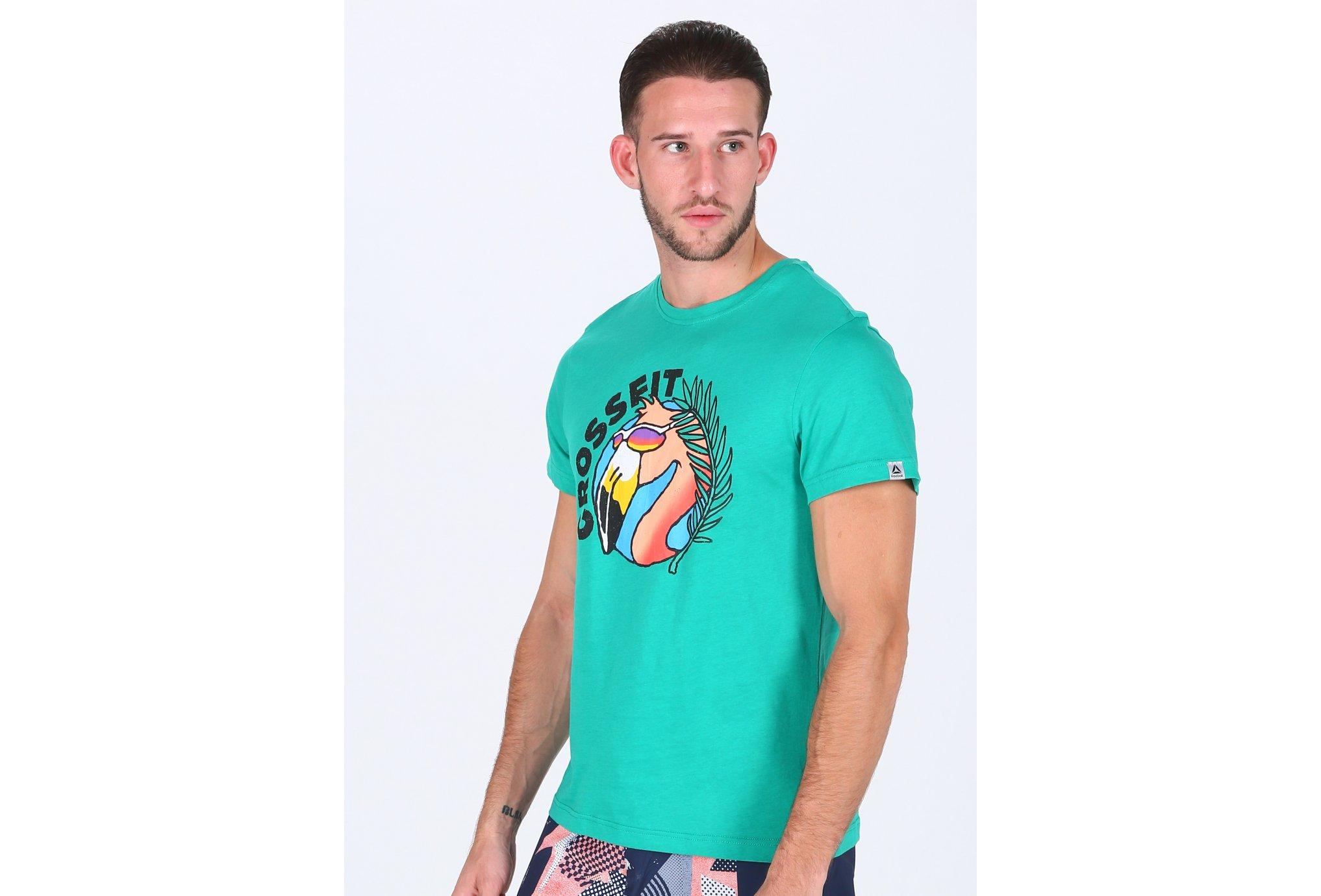 Reebok Funky Flamingo M Diététique Vêtements homme