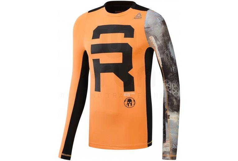 d6b614490 Reebok Camiseta manga larga Spartan Race en promoción