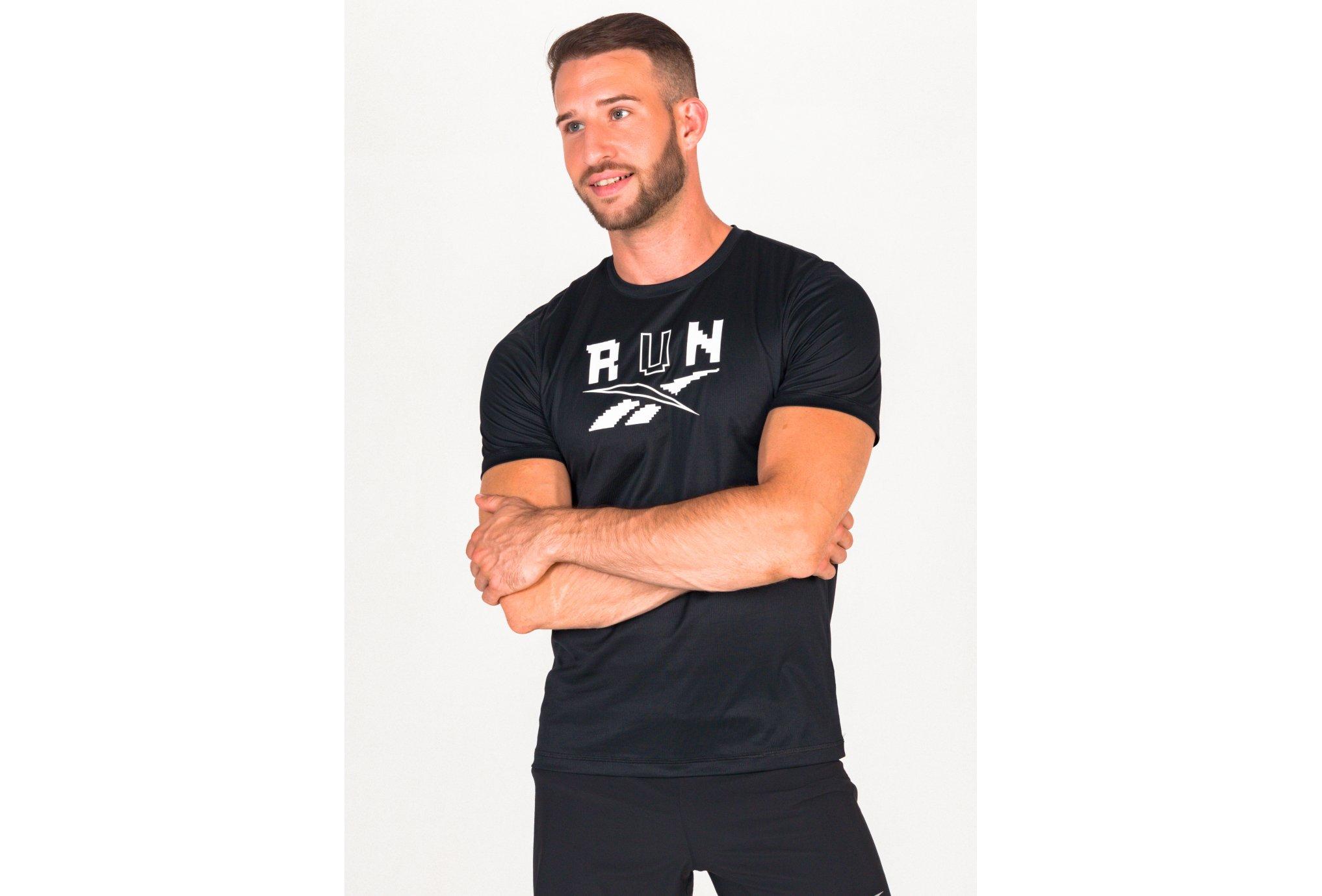 Reebok Running Speedwick Graphic M vêtement running homme