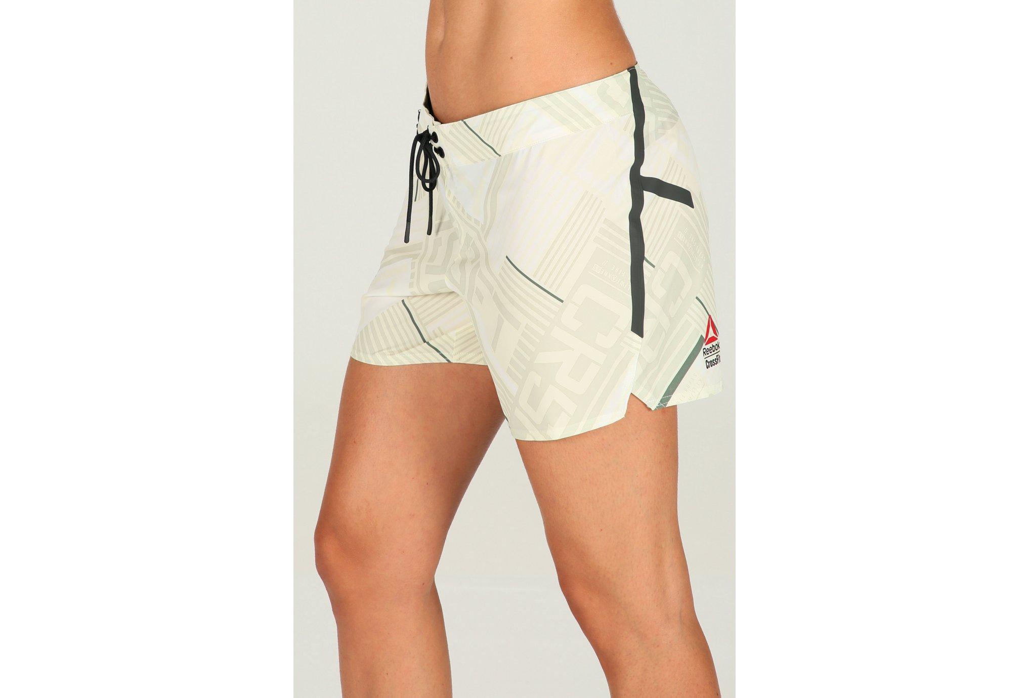 Reebok short crossfit knees out w vêtement running femme