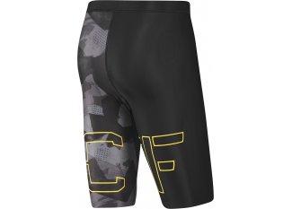 Reebok Pantalón corto de compresión Crossfit Printed