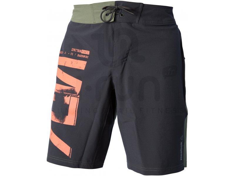 5fb3c050dc6cd Reebok Short Training Spartan Fan pas cher - Vêtements homme running Shorts    cuissards en promo