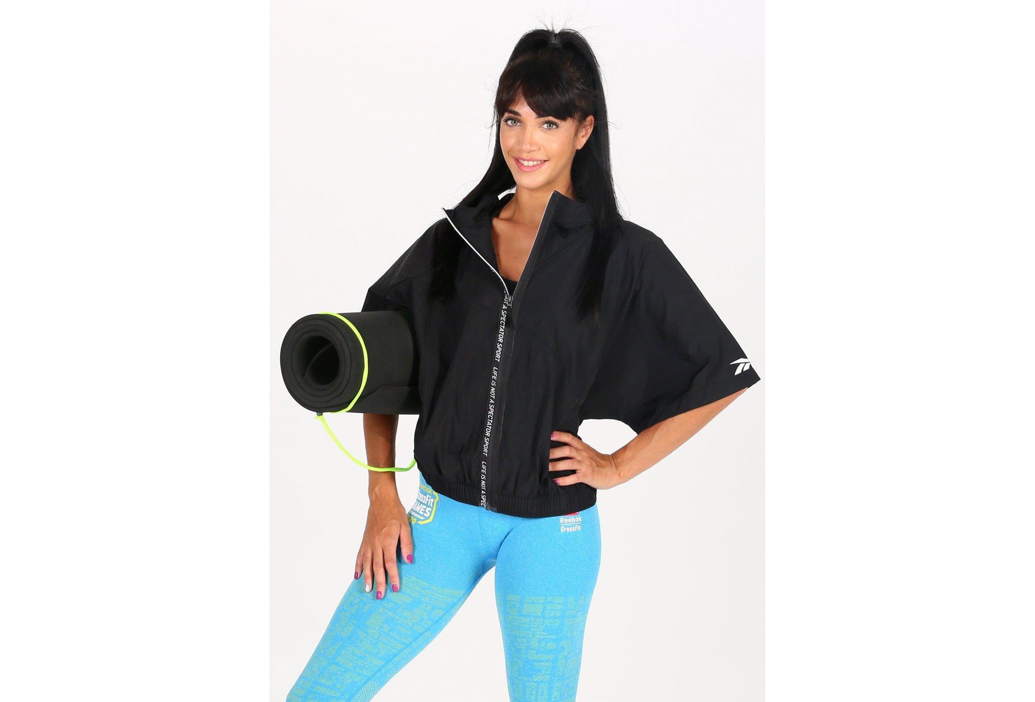 Reebok SS Full Zip W vêtement running femme