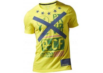 981318de4338 Reebok Tee-shirt CrossFit Blend M homme Jaune/or pas cher