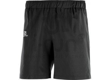 Salomon Agile M pas cher - Vêtements homme running Shorts ... 8029289d318