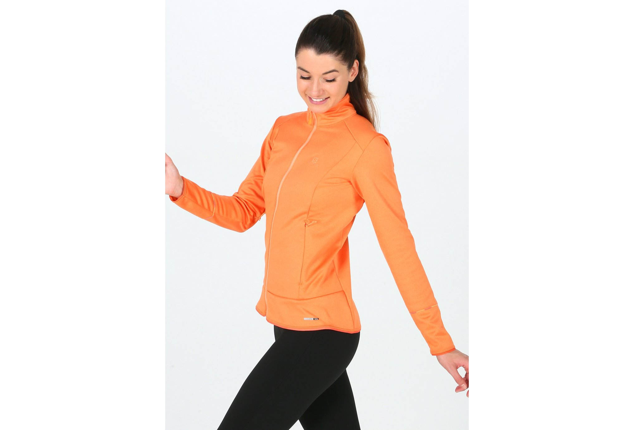 Salomon Discovery FZ W vêtement running femme
