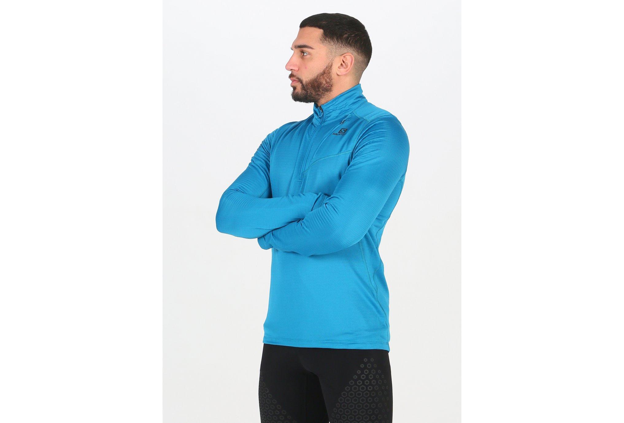 Salomon Grid HZ Mid M vêtement running homme
