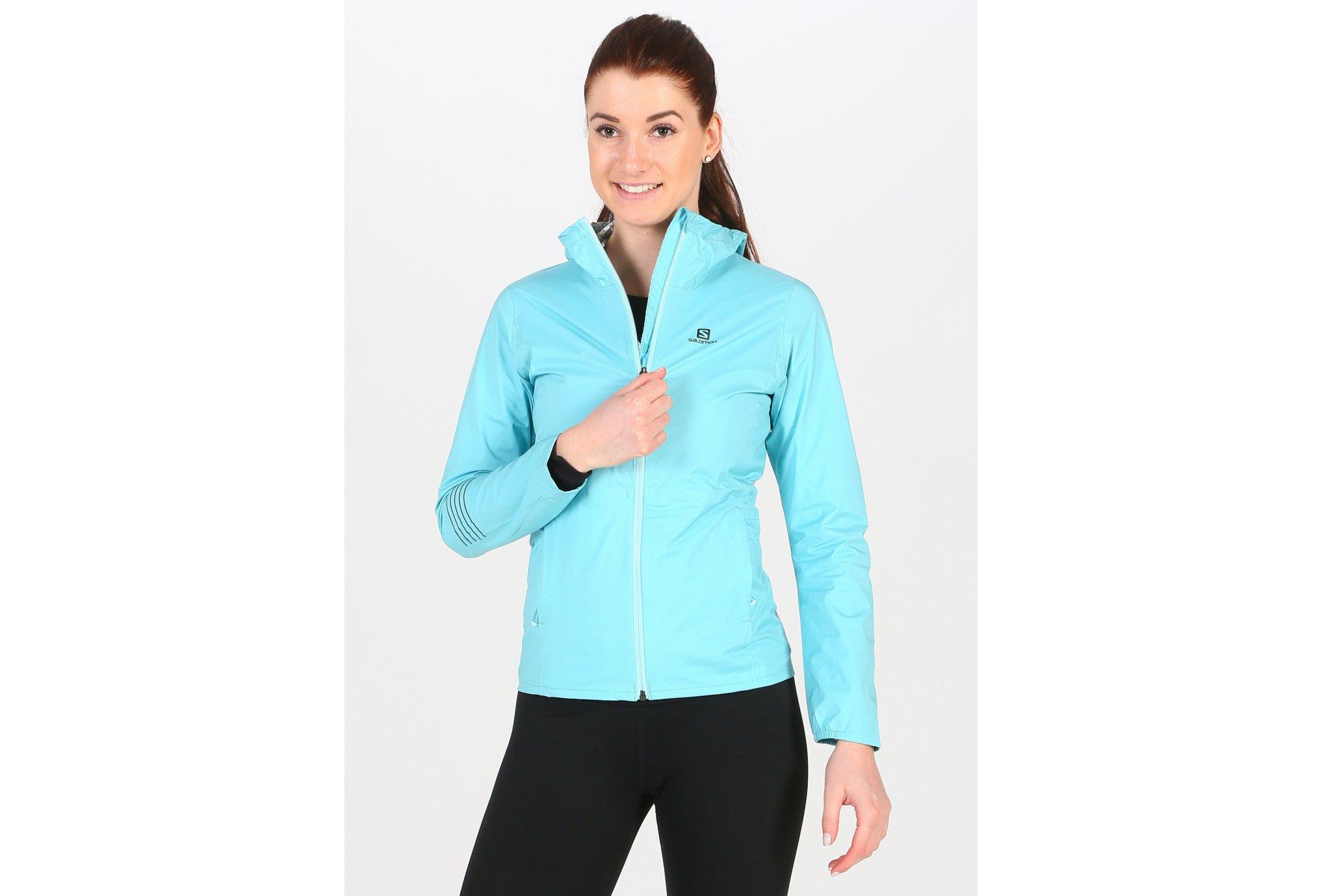Salomon Lightning WP W vêtement running femme