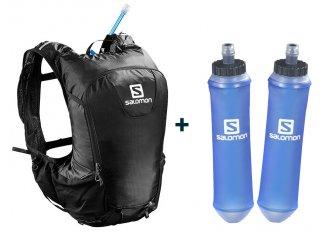 Salomon pack de mochila Skin Pro 15 Set + 2 Soft Flask  Speed 500 ml