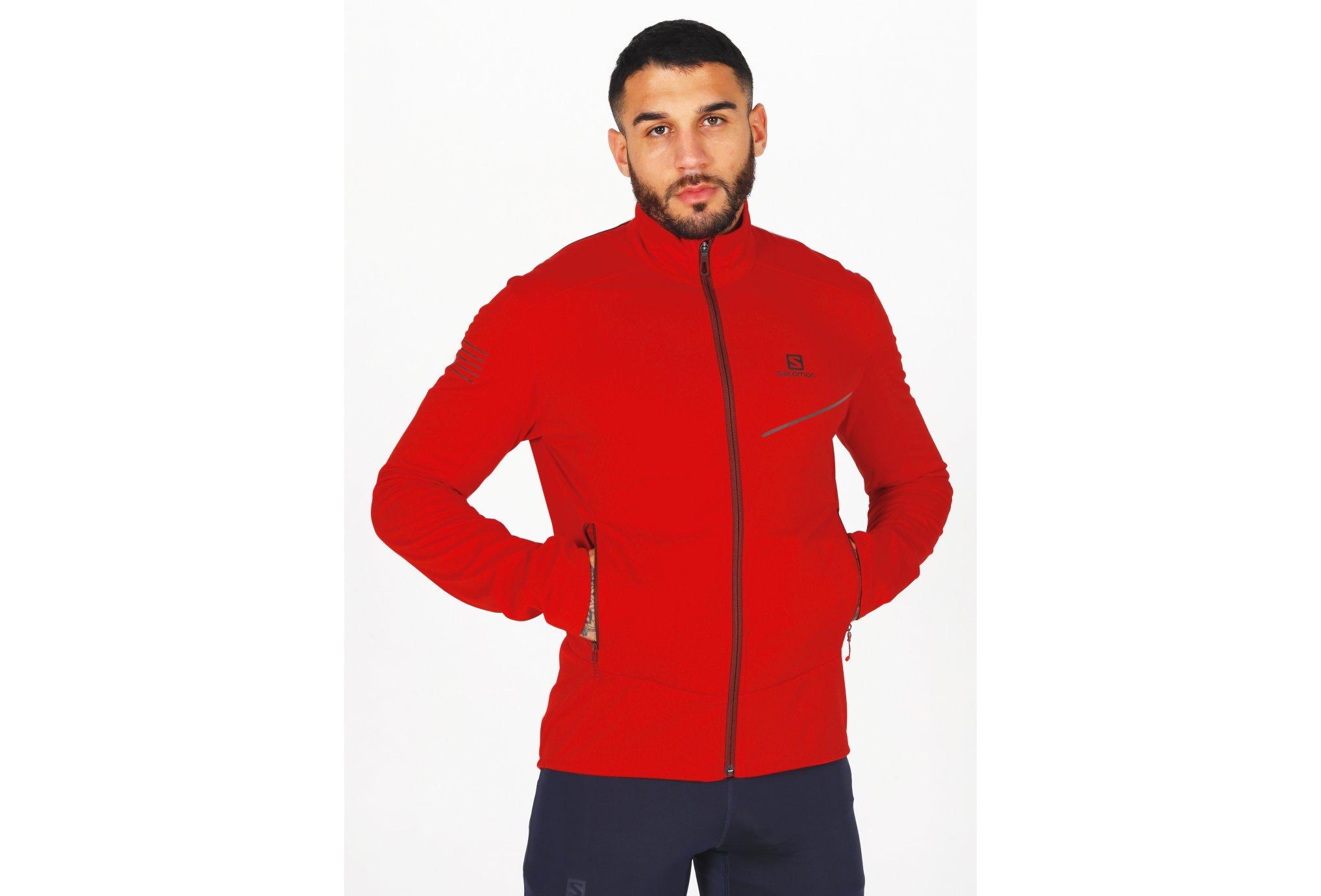 Salomon RS Softshell M vêtement running homme