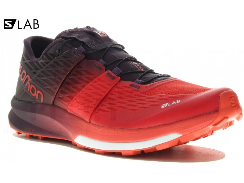 finest selection b9b88 8c85a Salomon S-Lab Ultra M homme Rouge