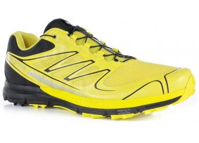 Homme Salomon Sense Pro 2 Chaussures De Running Jaune Soldes