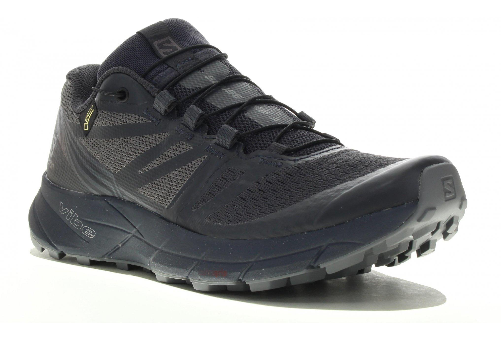 Salomon Sense Ride 2 Gore-Tex Nocturne Chaussures running femme
