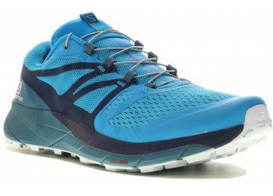 Chaussures de Trail Femme Salomon Sense Ride 2 Vert