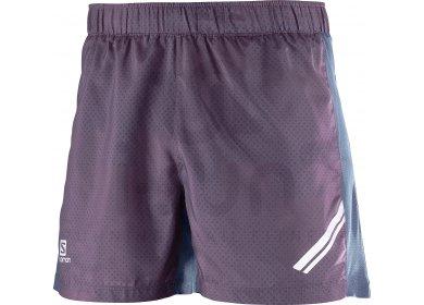 Salomon Short Agile M pas cher - Vêtements homme running Shorts ... 12a42e90143