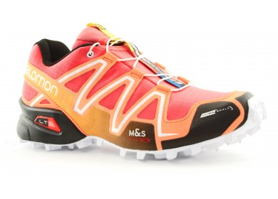 Salomon Speedcross 3 CS W chaussures trail rouge orange