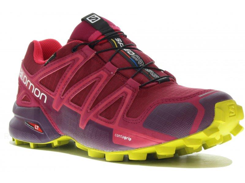 Salomon Chaussures Running W Tex Femme Gore 4 Trail Speedcross TFKc3l1J