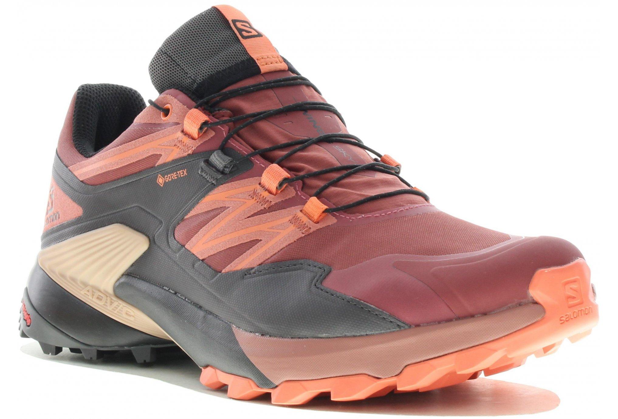 Salomon Wings Sky Gore-Tex W Chaussures running femme