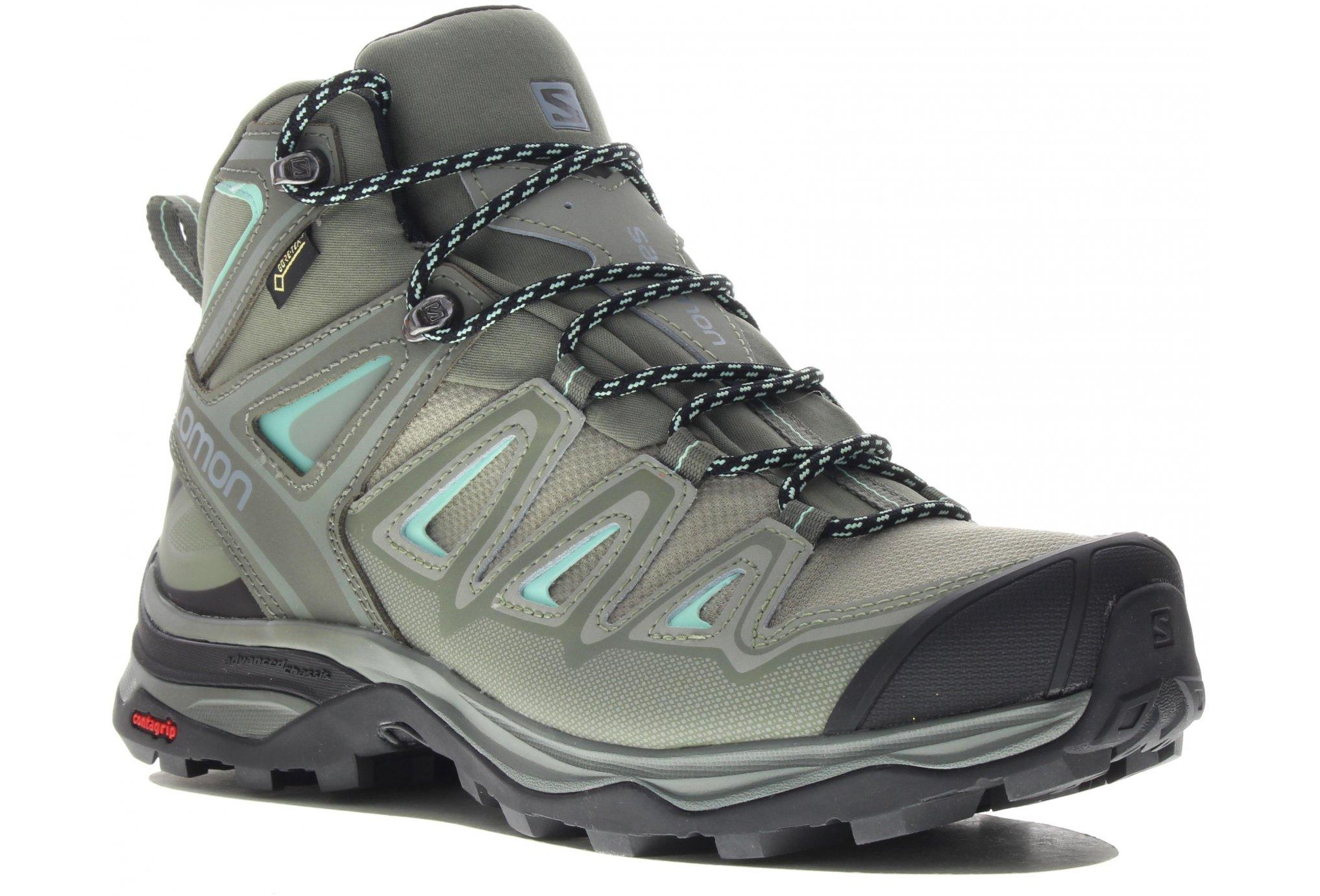 Salomon X Ultra 3 Mid Gore-Tex Chaussures running femme