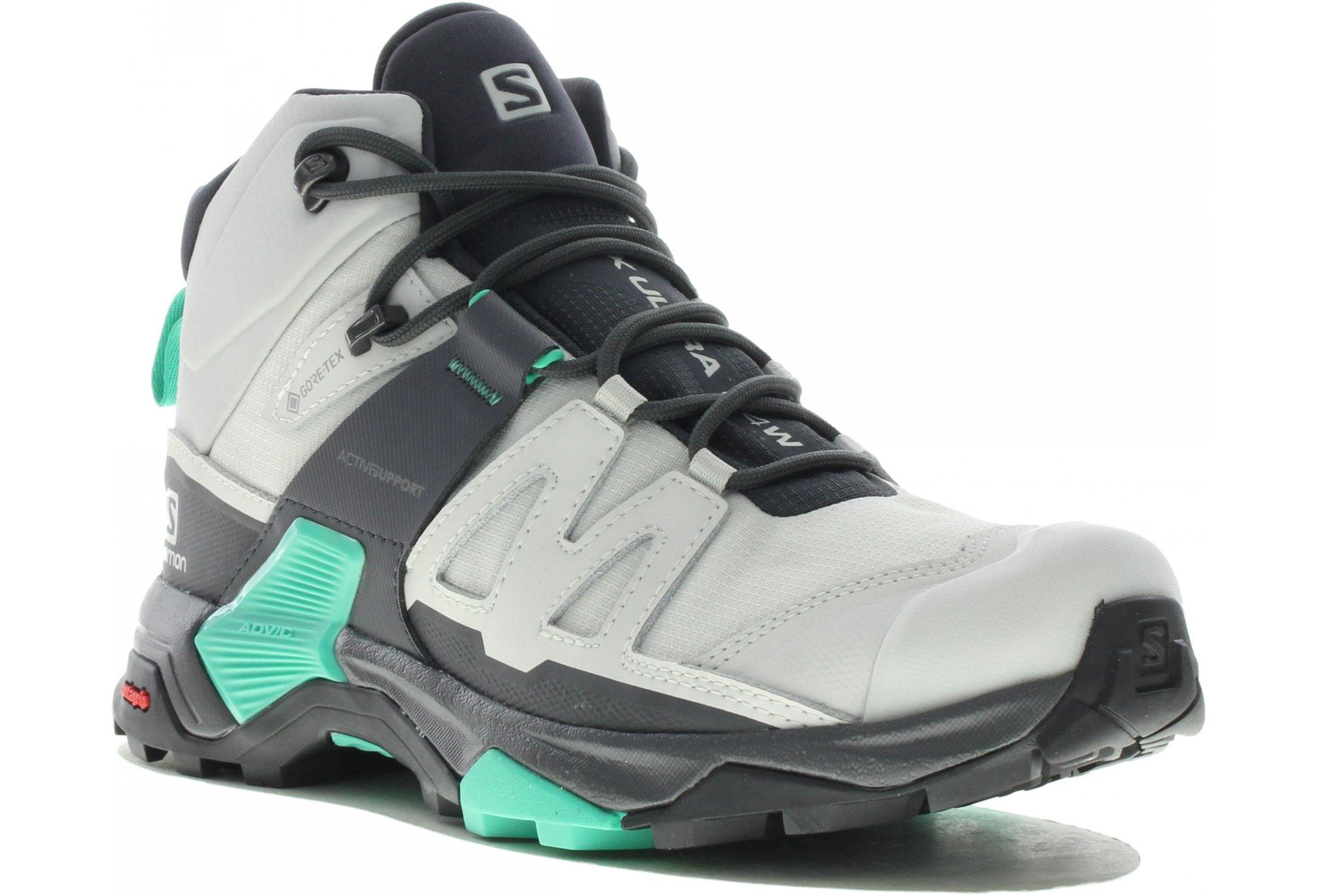 Salomon X Ultra 4 Mid Gore-Tex W Chaussures running femme