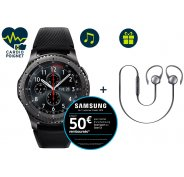 Samsung Pack Gear S3 Frontier + Casque Level Active Offert