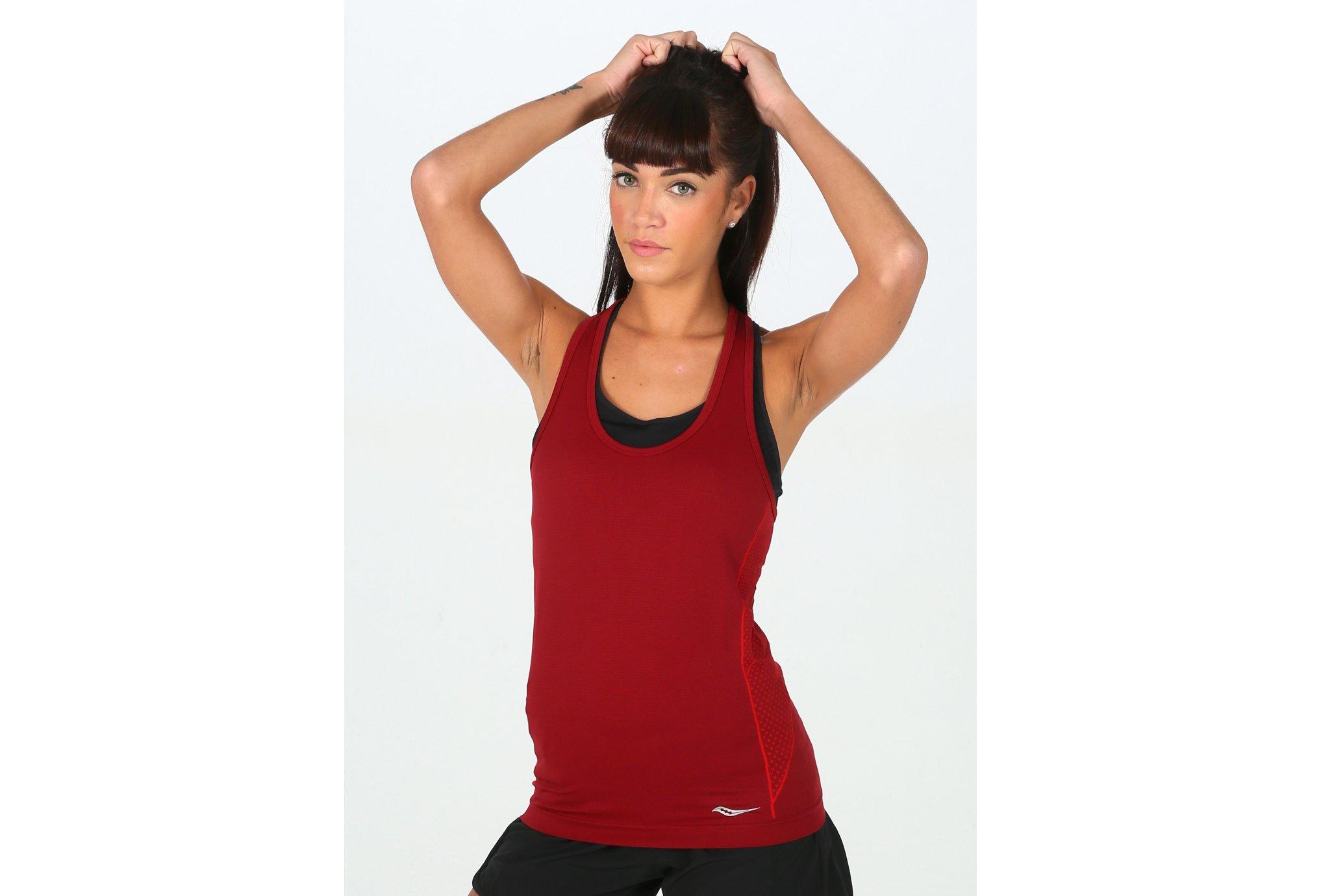 Saucony Bell Lap Seamless W Diététique Vêtements femme