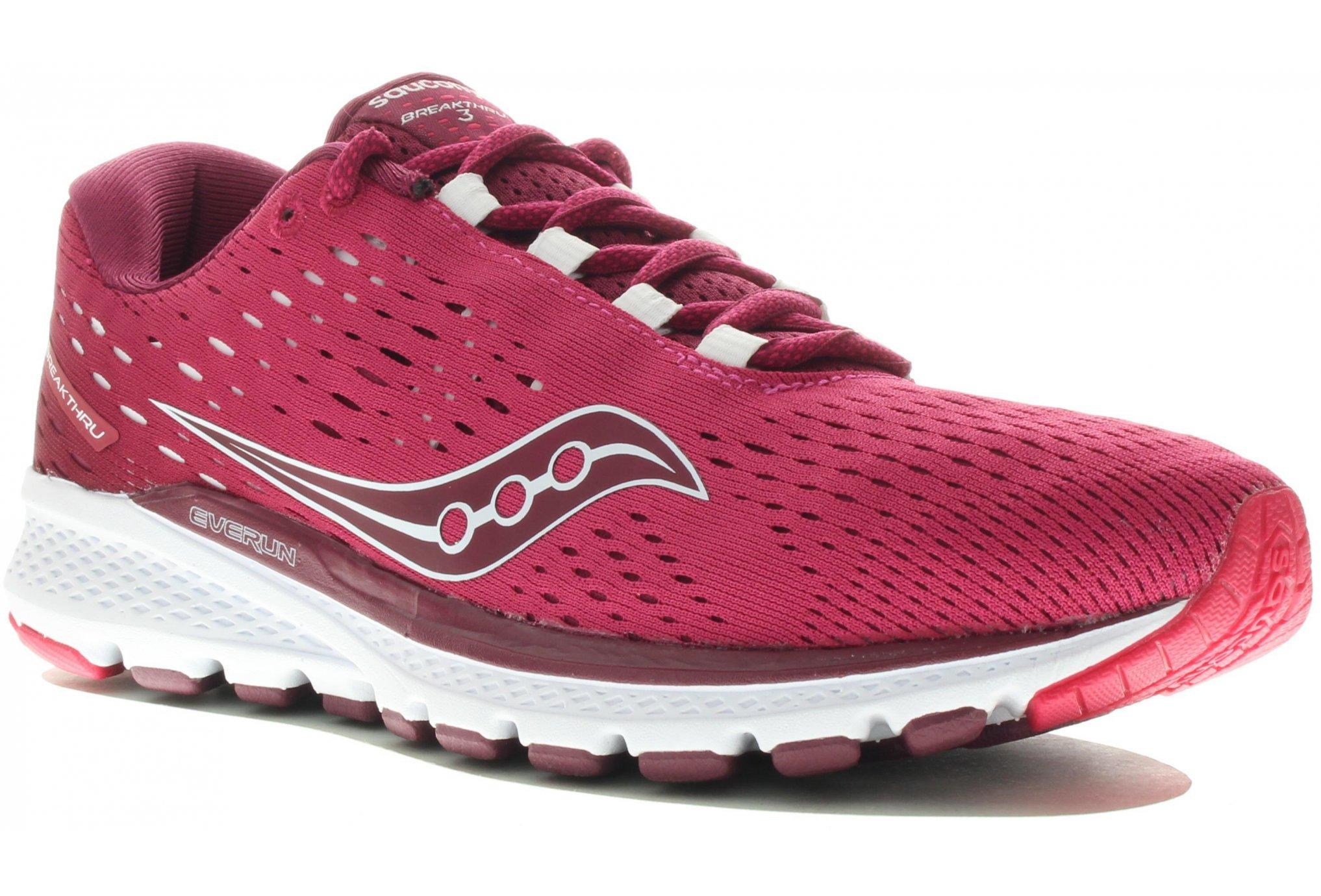 Saucony Breakthru 3 W Diététique Chaussures femme