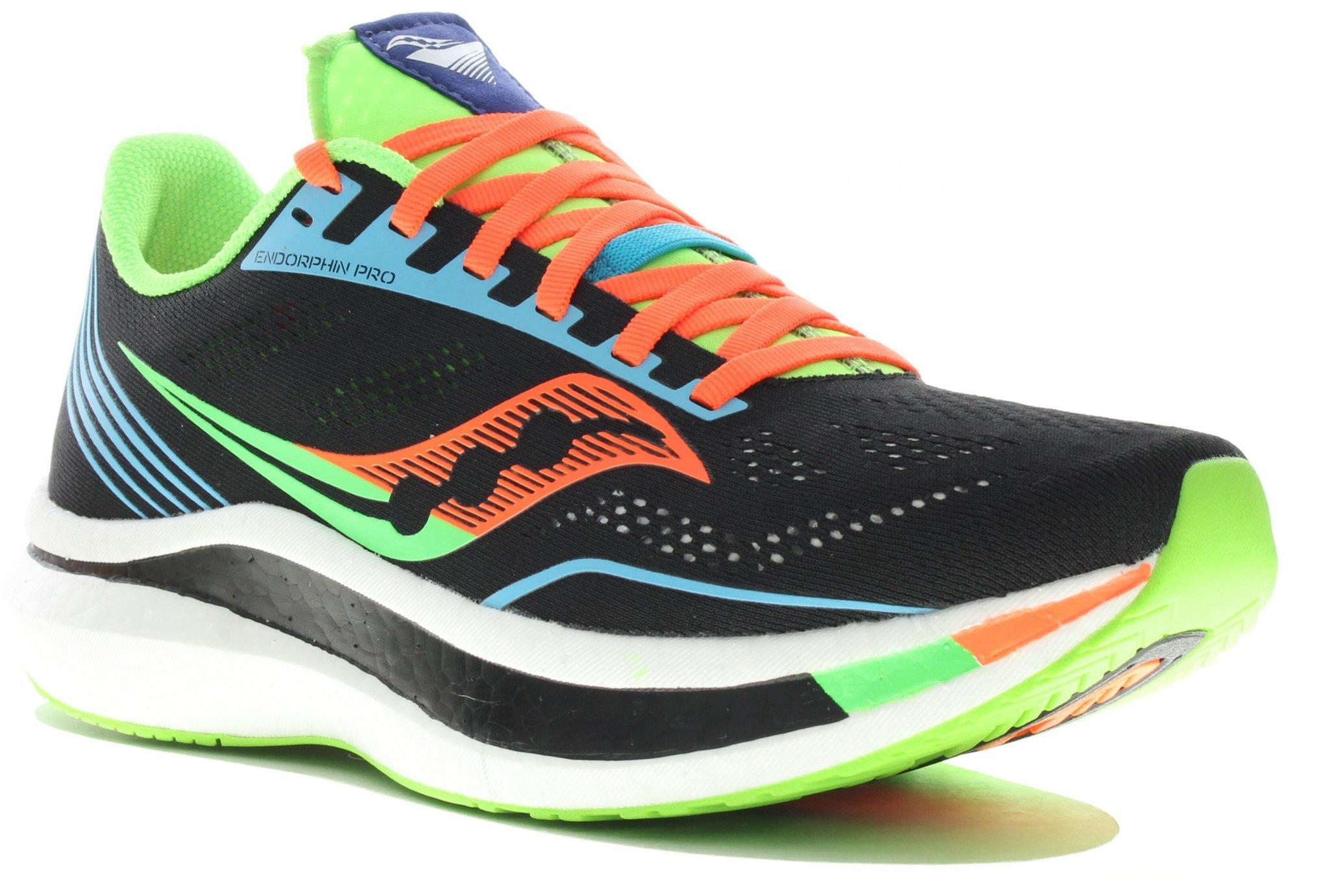 Saucony Endorphin Pro Bright Future Black M Diététique Chaussures homme