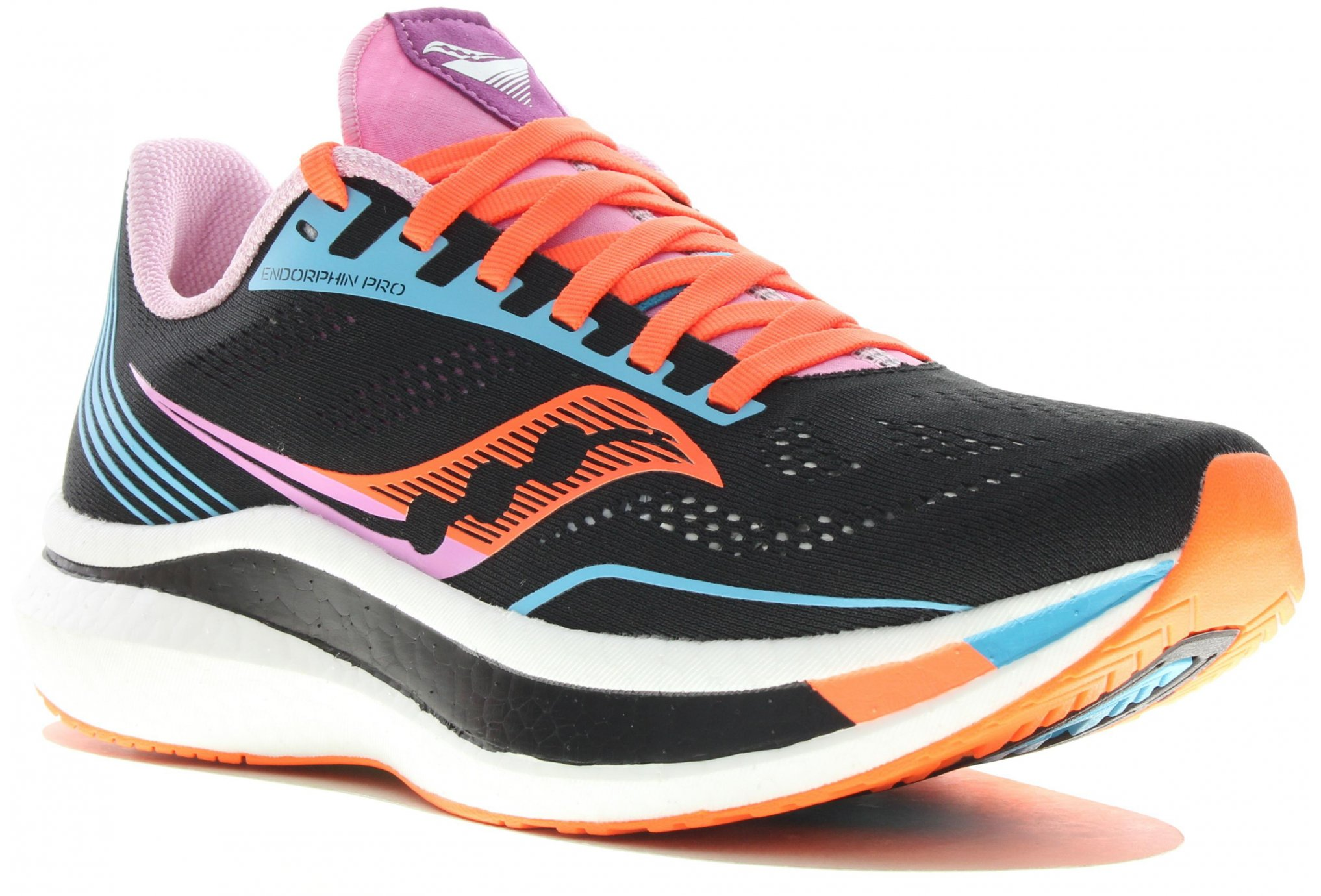 Saucony Endorphin Pro Bright Future Black W Chaussures running femme