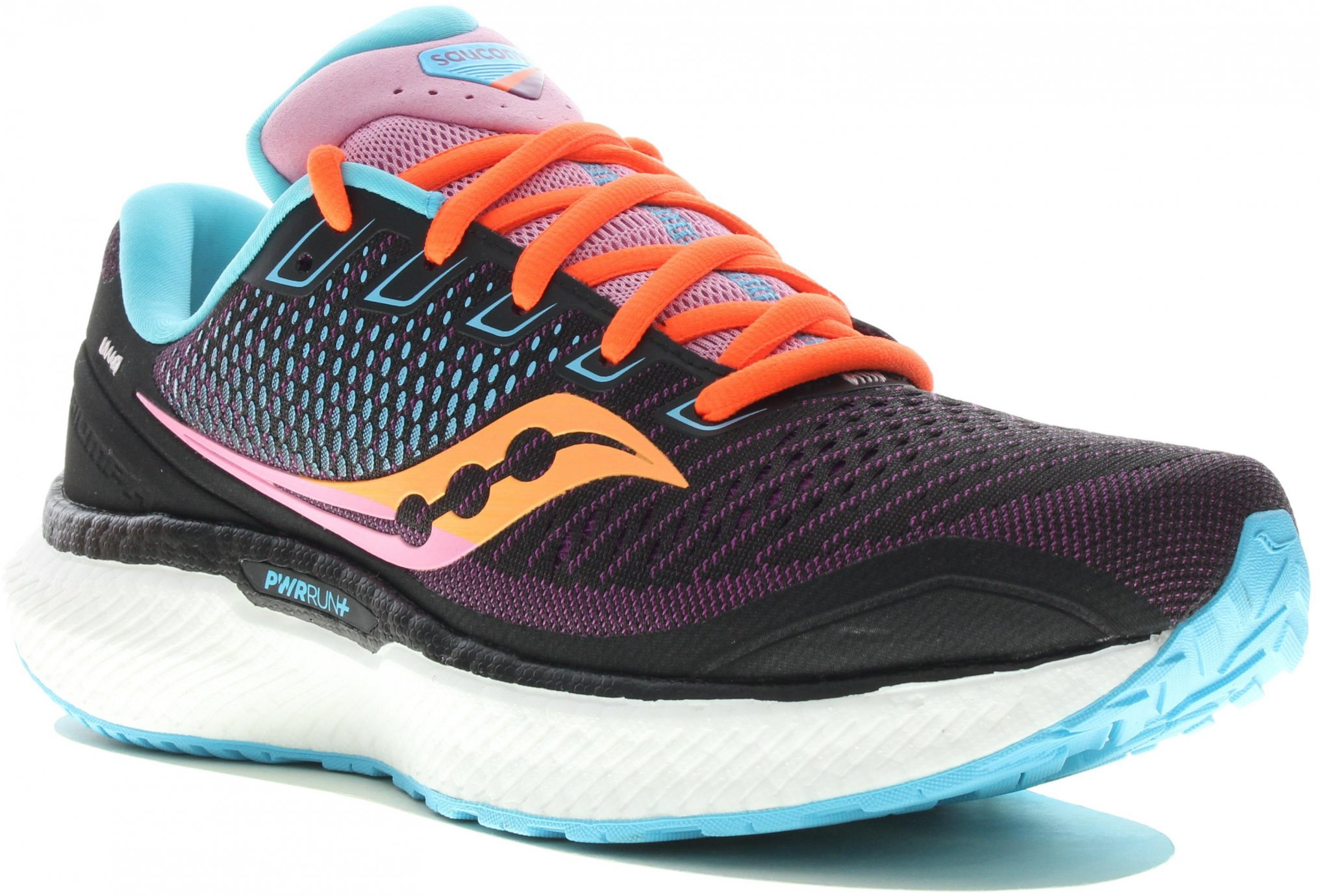 Saucony Triumph 18 Bright Future Black W Chaussures running femme