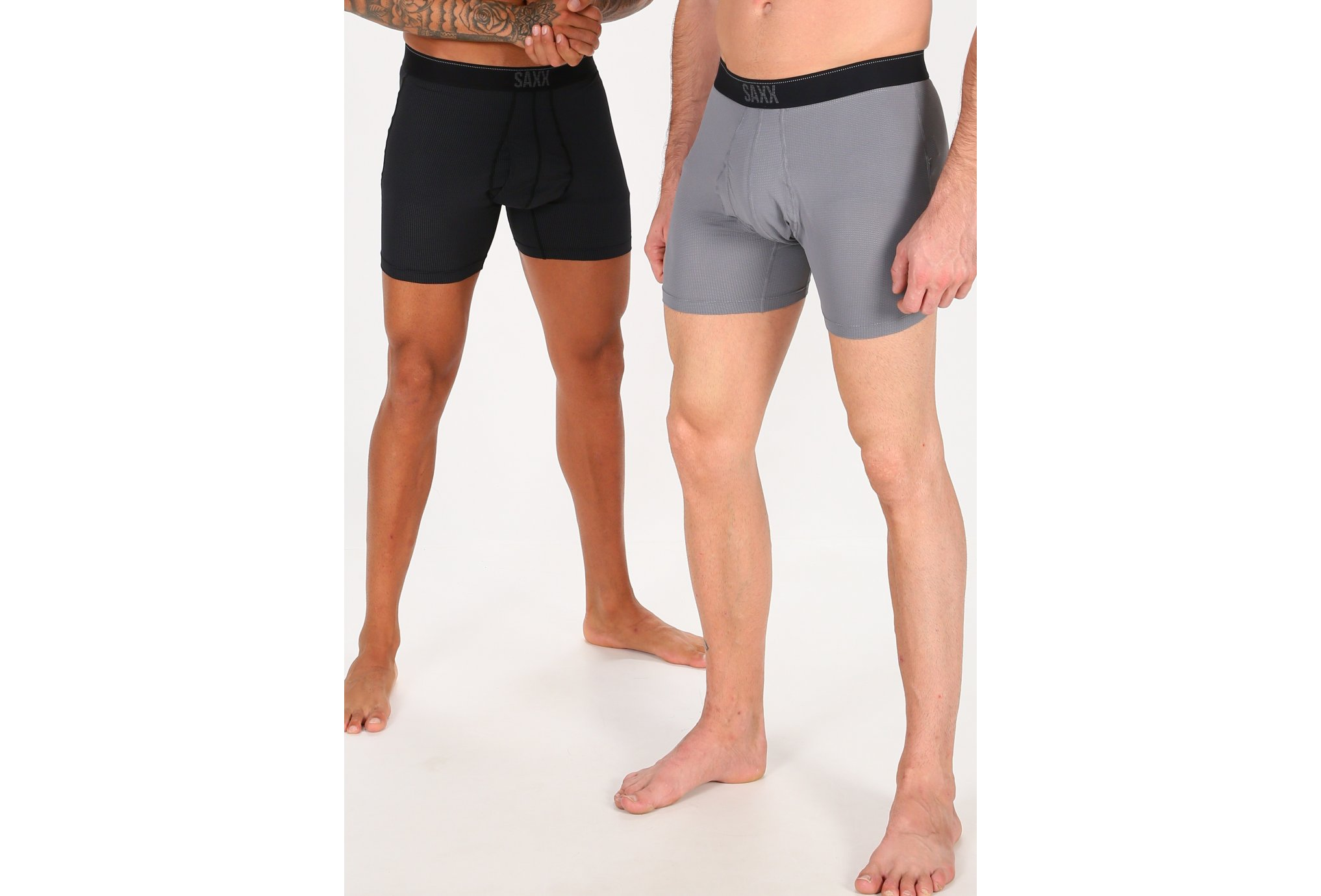 Saxx Pack Quest Brief Fly M vêtement running homme