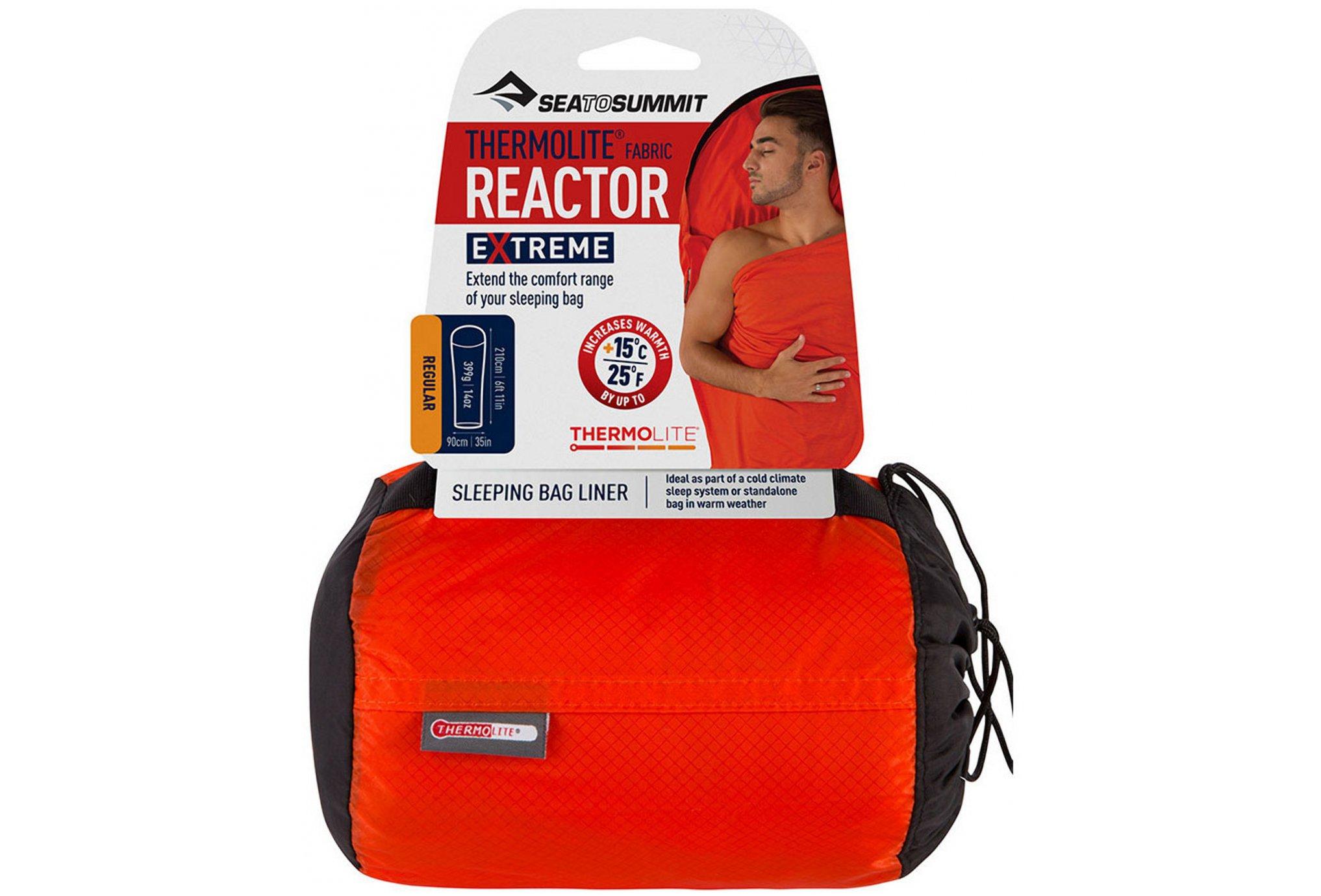 Sea To Summit Drap de sac Thermolite Reactor Extreme - R Sac de couchage