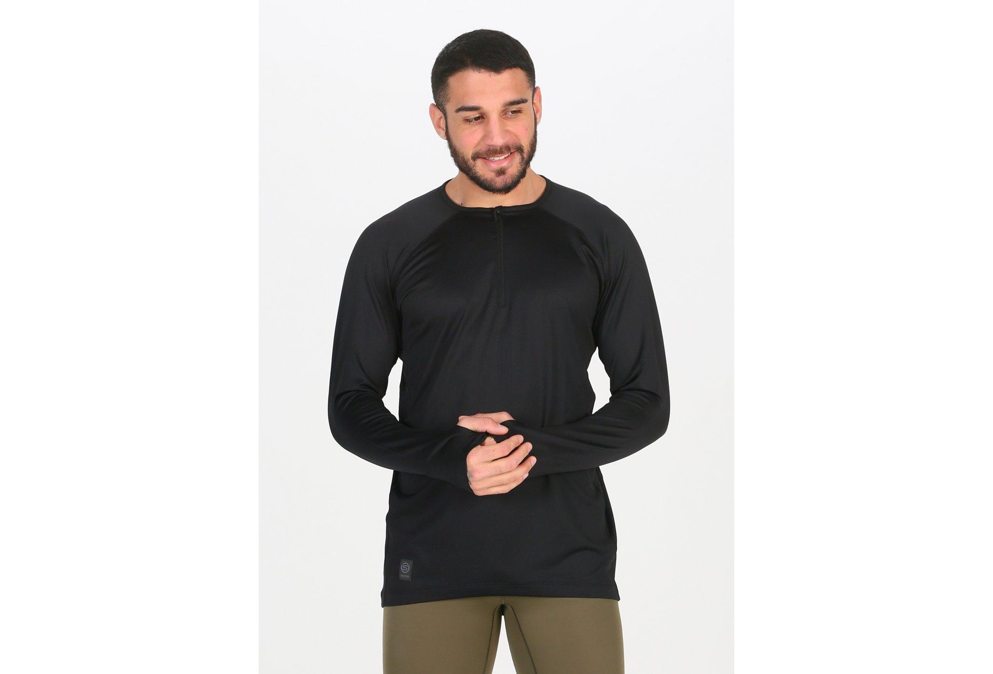 Skins Activewear Trooper Midlayer 1/2 Zip M Diététique Vêtements homme