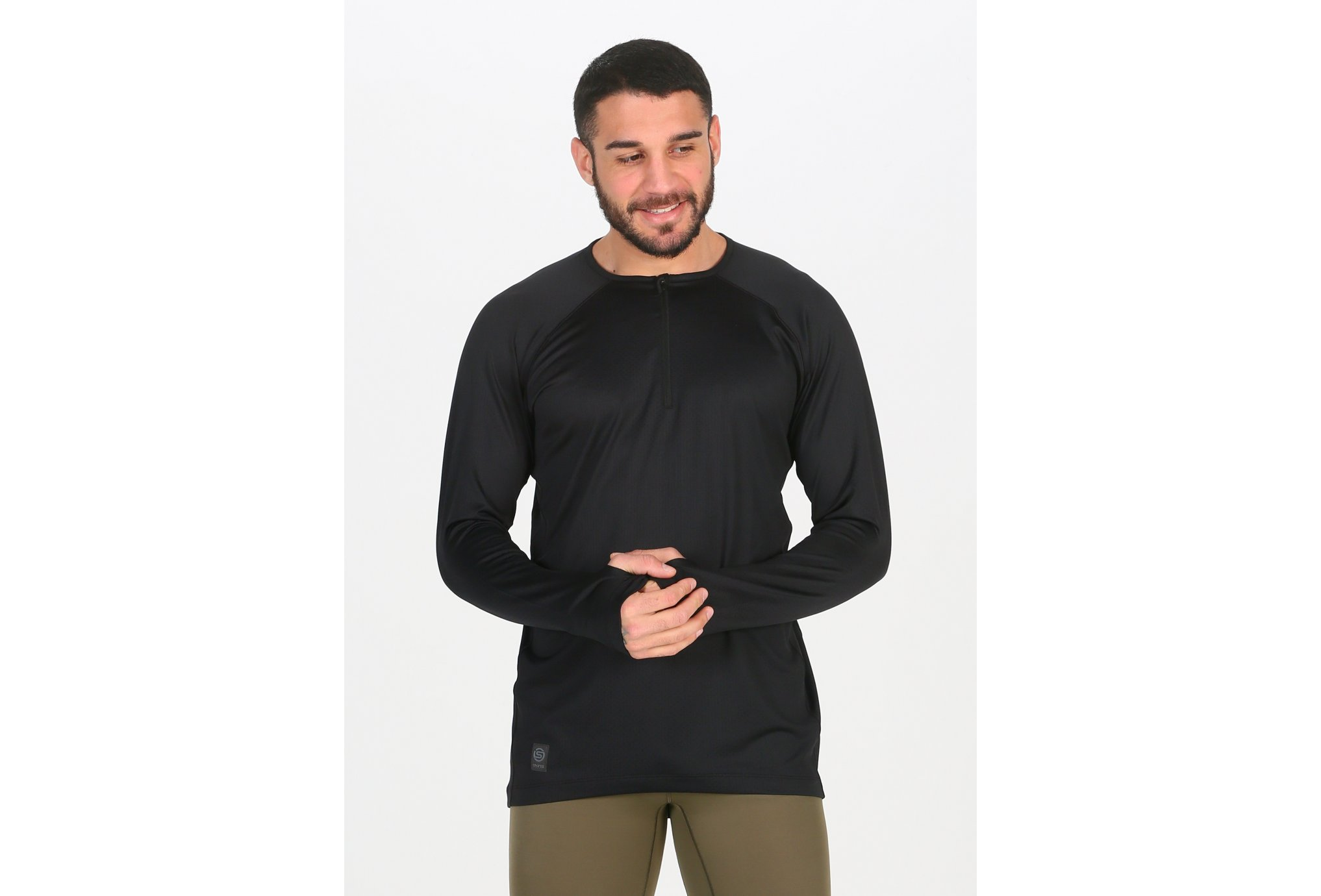 Skins Activewear Trooper Midlayer 1/2 Zip M vêtement running homme