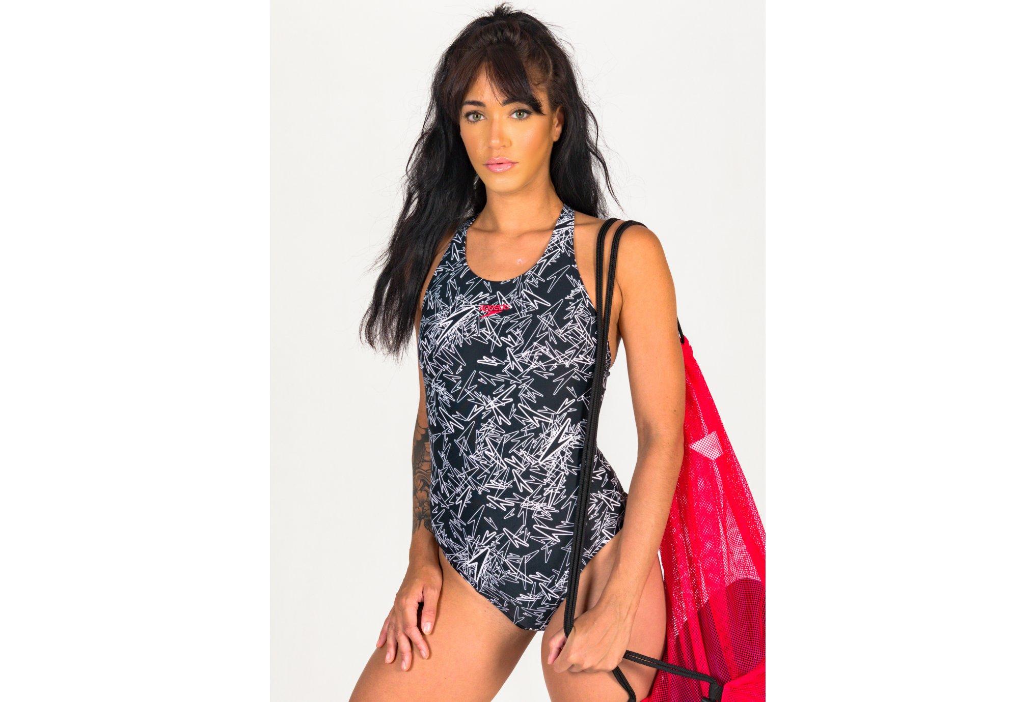 Speedo Boom All Over Muscleback W vêtement running femme