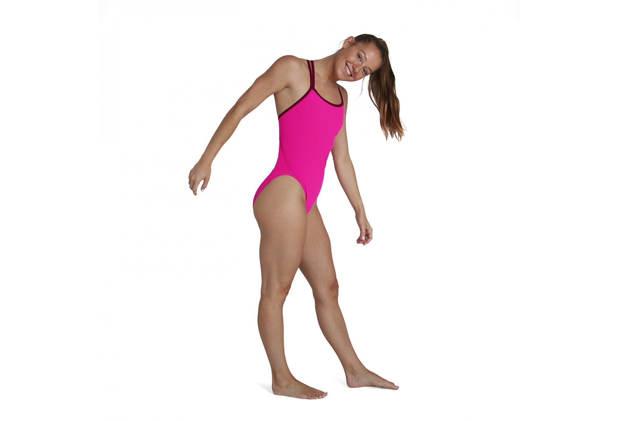 Speedo Endurance Solid Starback W vêtement running femme
