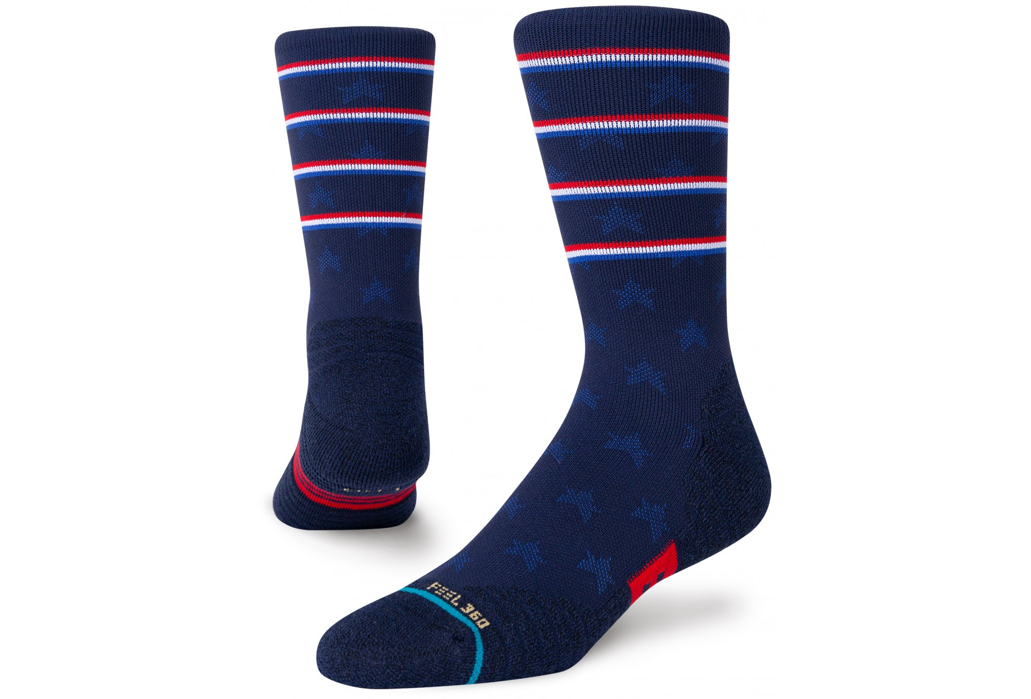 Stance Athletic Independence Crew Chaussettes