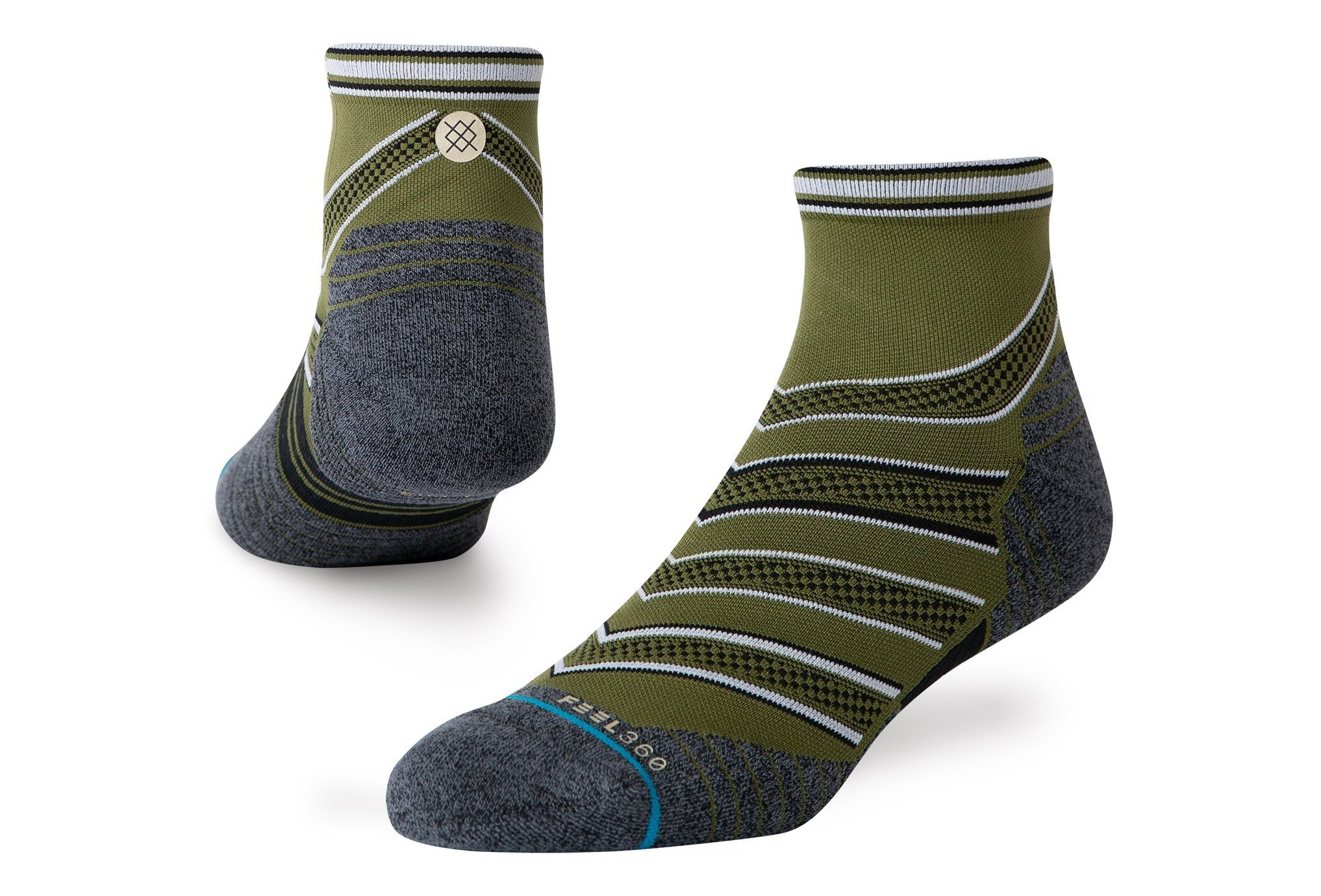 Stance Run Conflicted QTR M Chaussettes