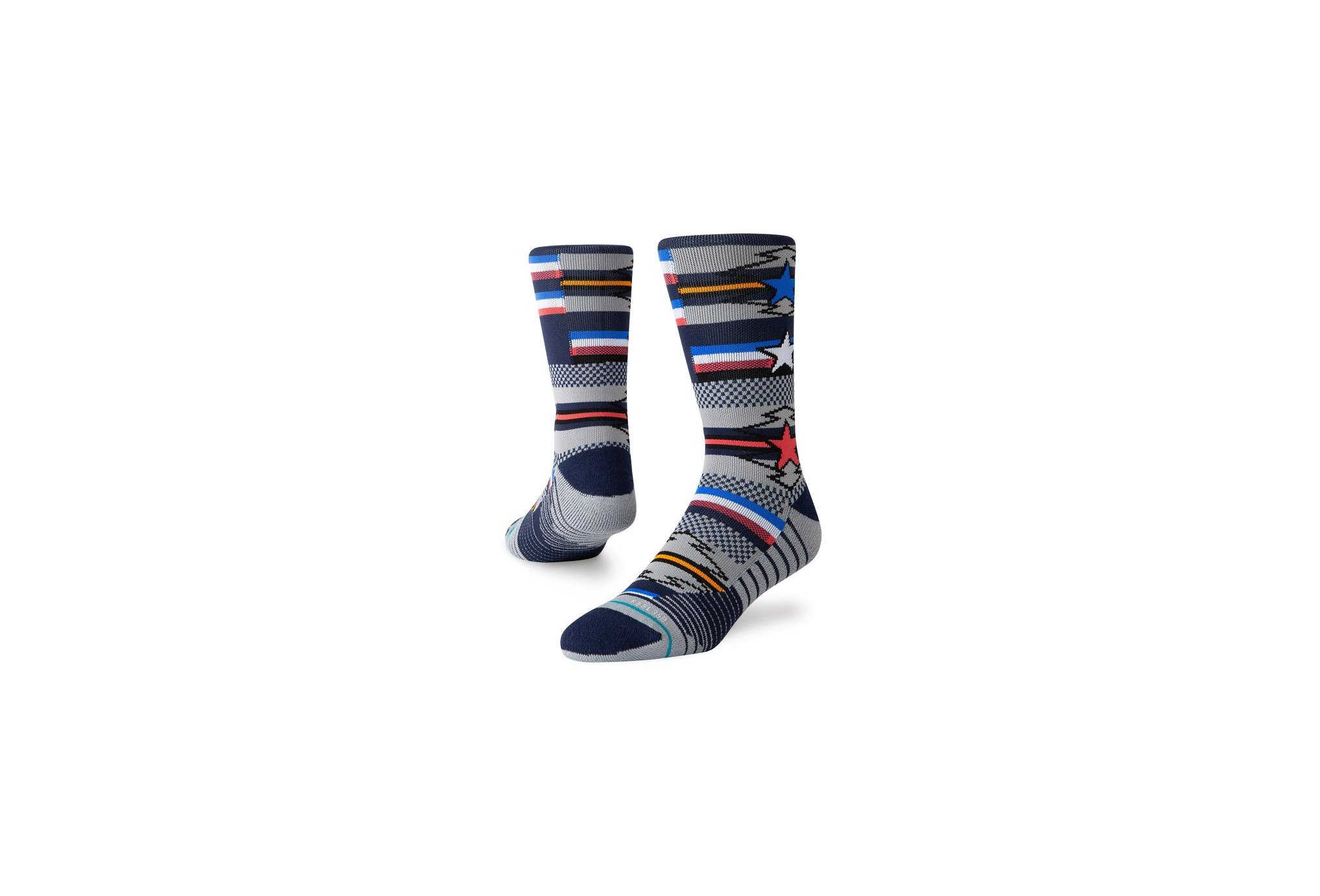 Stance Training Mens Star Search Crew M Chaussettes