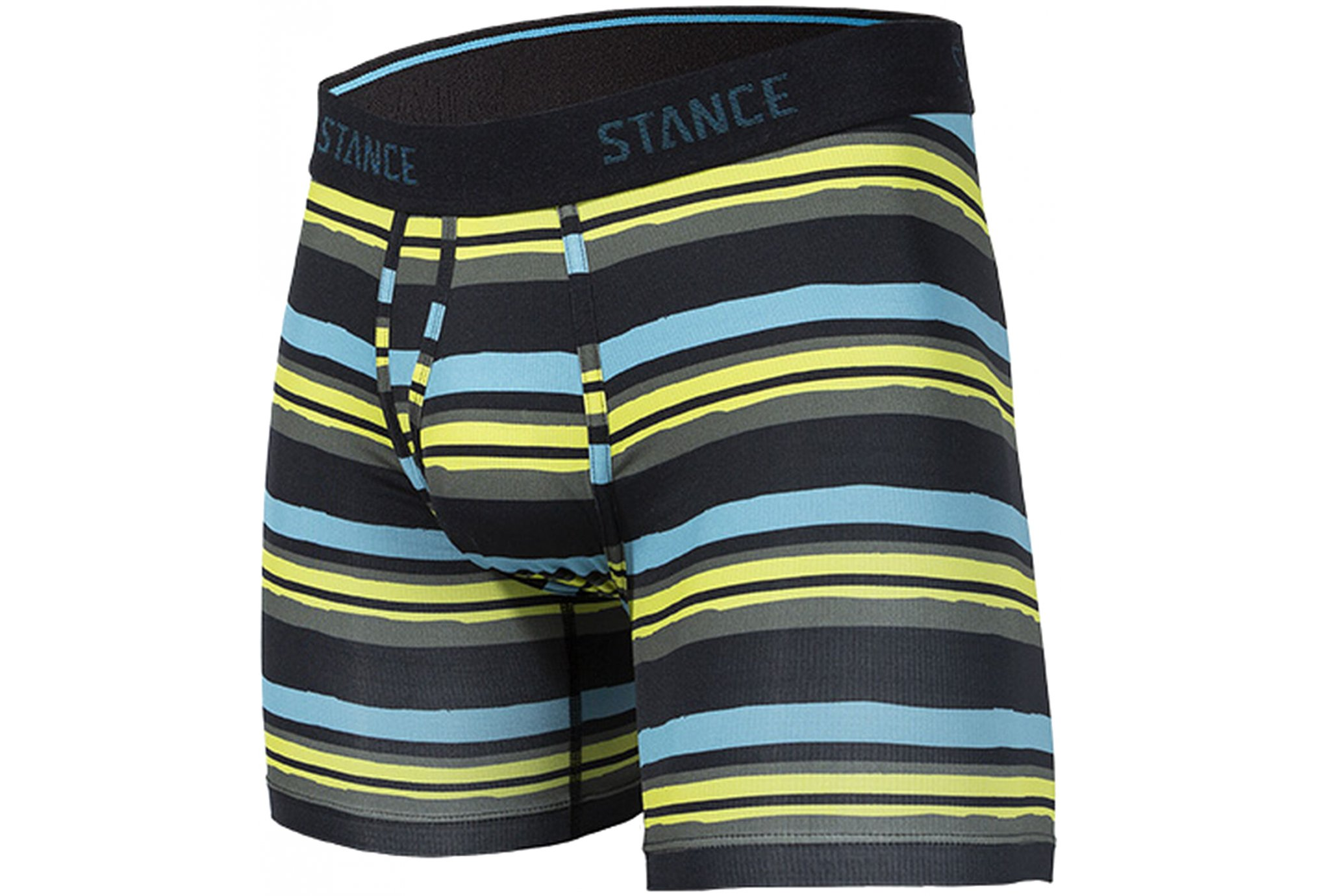 Stance Wholester Lane Lines Boxer Brief M vêtement running homme