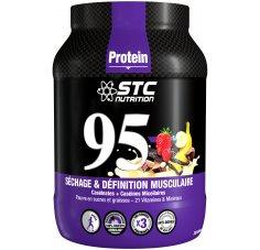 STC Nutrition 95 Pure Premium Protein 750 g - Vanille