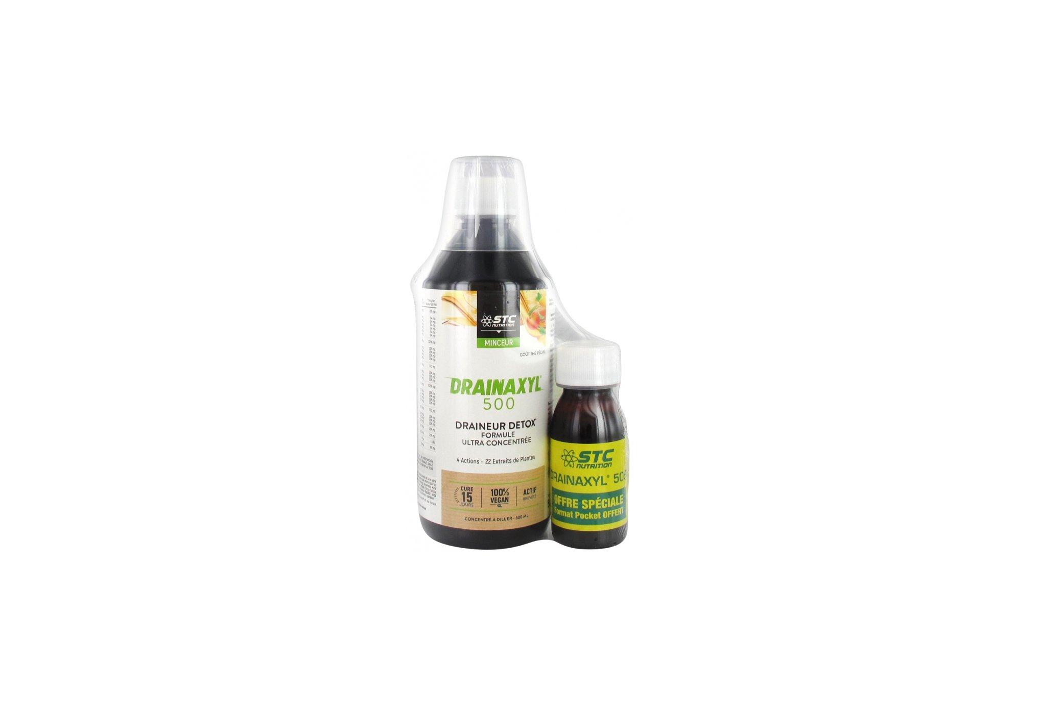 STC Nutrition Drainaxyl 500 Thé pêche + format pocket offert Diététique Compléments