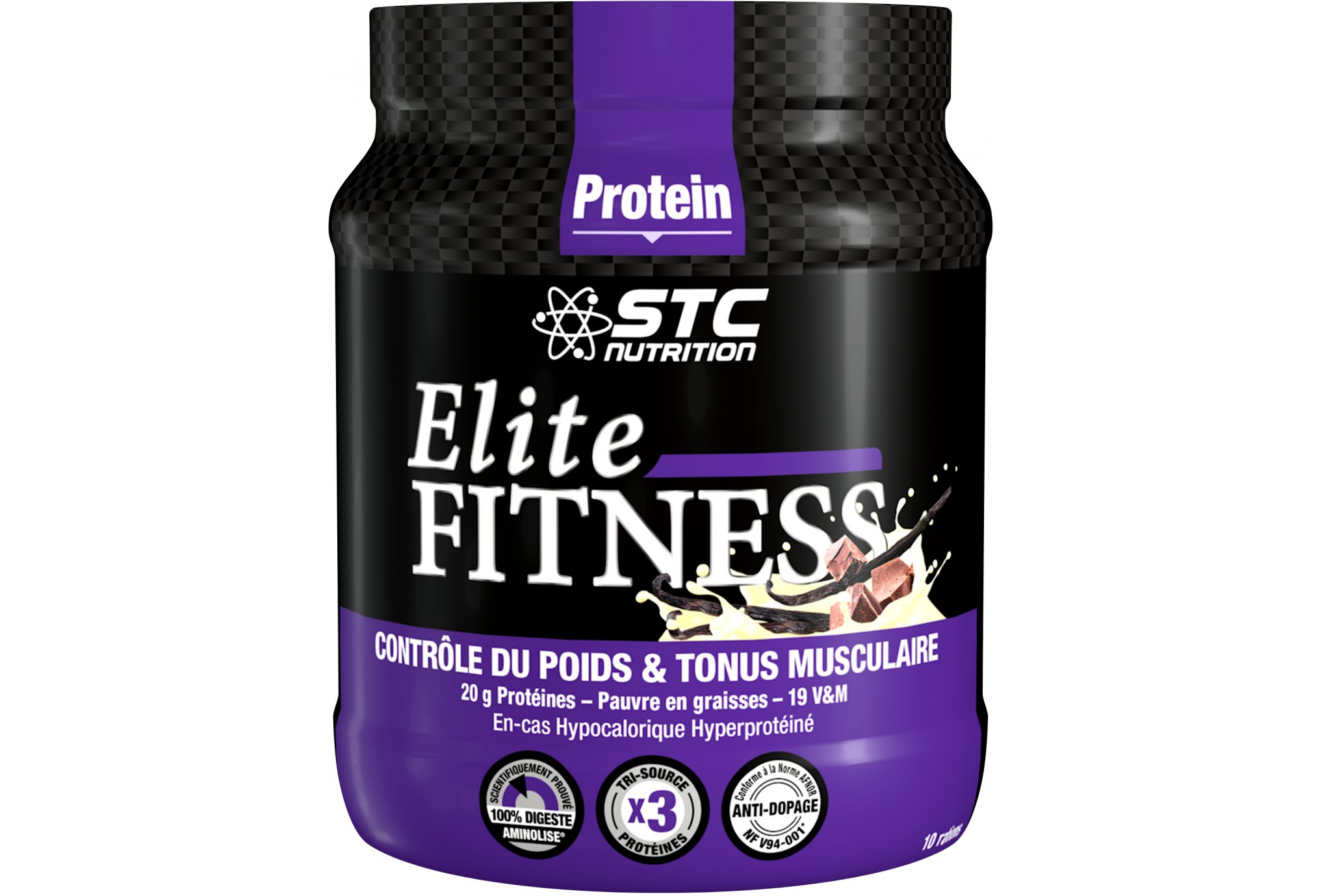 STC Nutrition Mezcla Elite Fitness - Vainilla 350 g Diététique Protéines / récupération